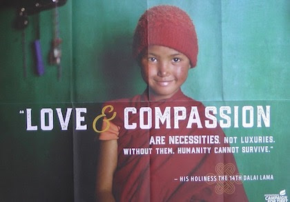 Love & Compassion Are Necessities Not Luxuries, A Message From Lee Perry
